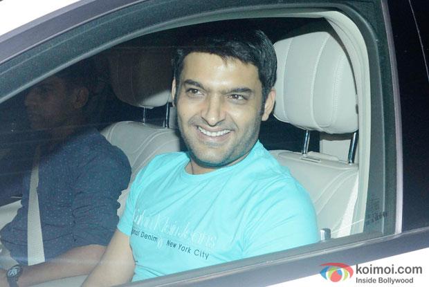 Kapil Sharma At Piku Special Screening