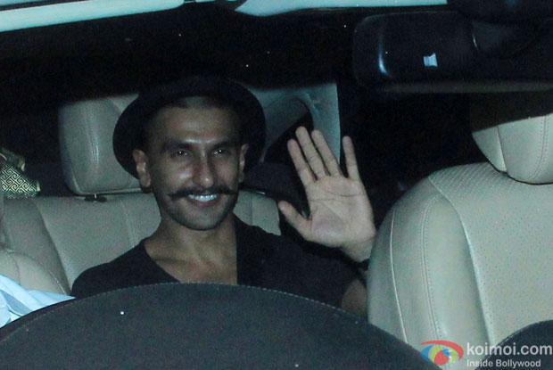 Ranveer Singh At Piku Special Screening
