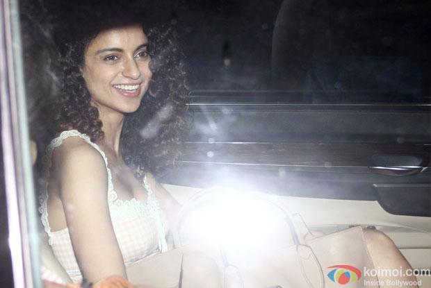 Kangana Ranaut At Piku Special Screening