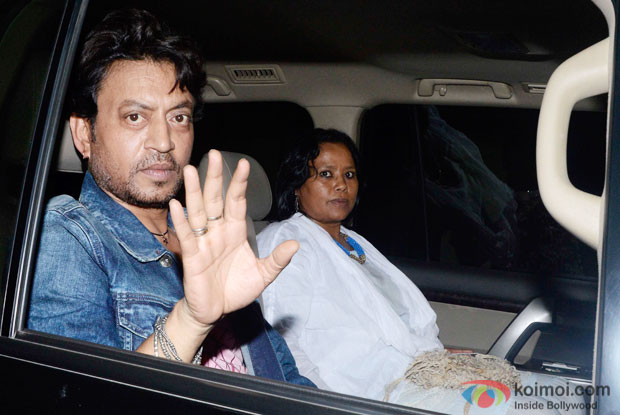 Irfan Khan At Piku Special Screening