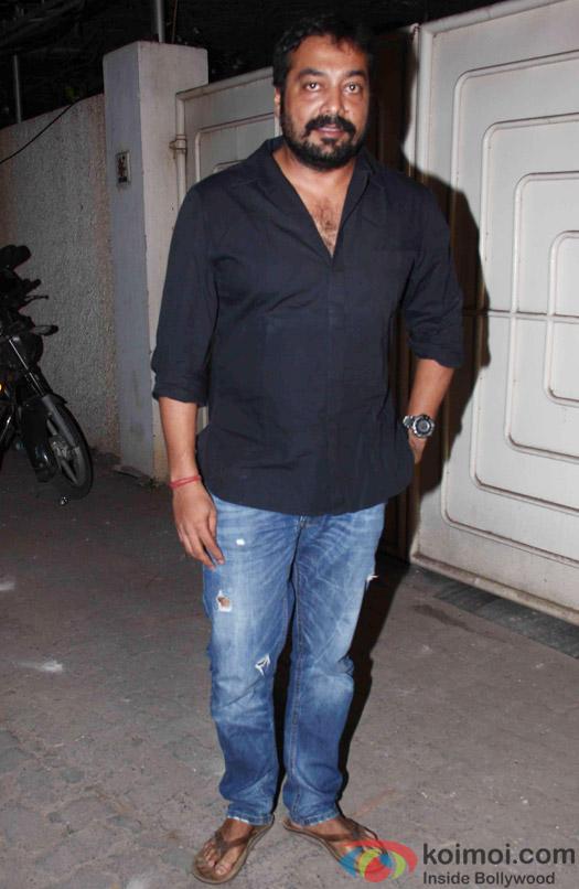 Anurag Kashyap during the success party of Tanu Weds Manu Returns