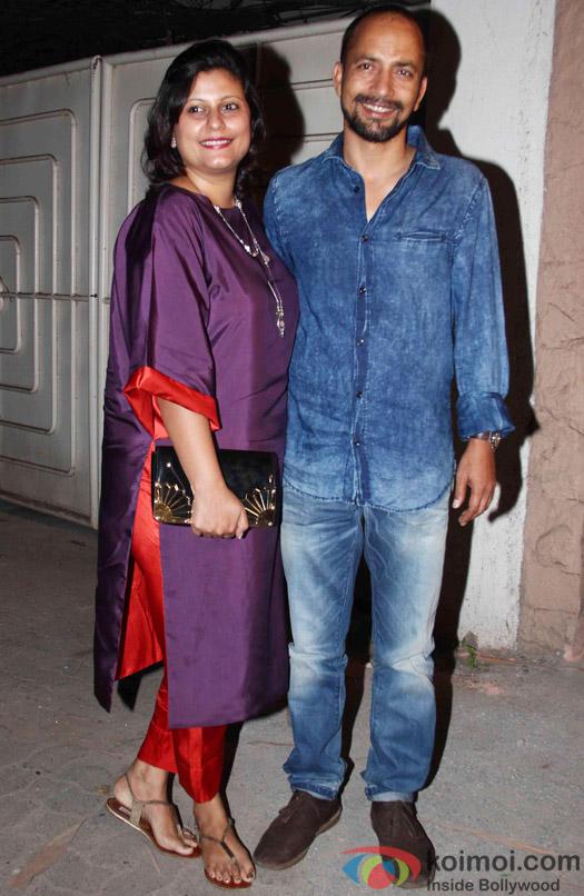 Deepak Dobriyal during the success party of Tanu Weds Manu Returns