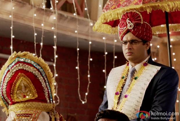 R. Madhavan in a still from movie 'Tanu Weds Manu Returns'