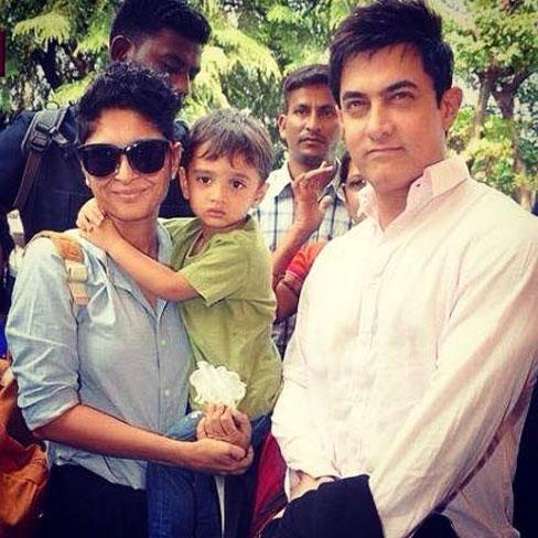 Kiran Rao and Aamir Khan: Azad Rao Khan