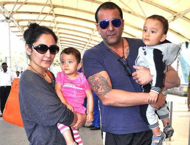 Manyatta Dutt and Sanjay Dutt: Sharaan and Iqra