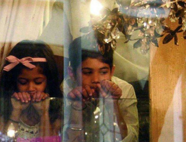 Twinkle Khanna and Akshay Kumar: Aarav and Nitara
