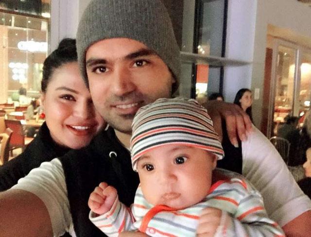 Veena Malik and Asad Bashir Khan Khattak: Abram Khan Khattak