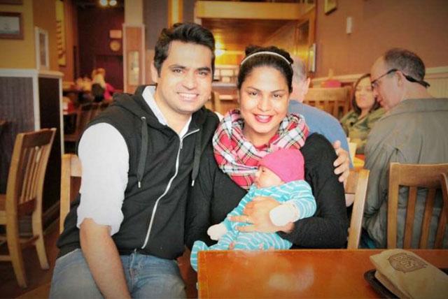 Veena Malik and Asad Bashir Khan Khattak Kids - Abram Khan Khattak