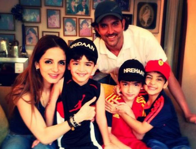 Sussanne Roshan and Hrithik Roshan: Hrehaan and Hredhaan