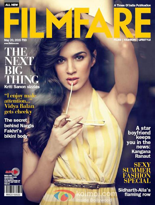 Kriti Sanon On The Cover Of Filmfare