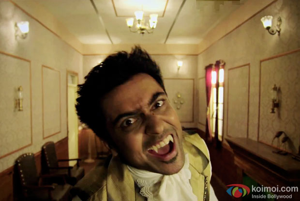 Surya in a still from movie 'Masss'