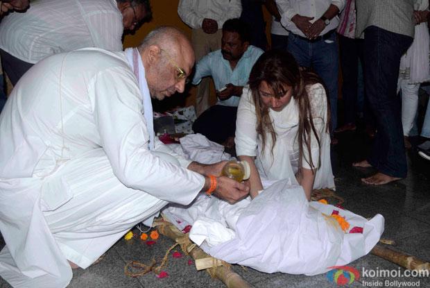 Kyunki Saas Bhi Kabhi Bahu Thi's Baa aka Sudha Shivpuri's Funeral