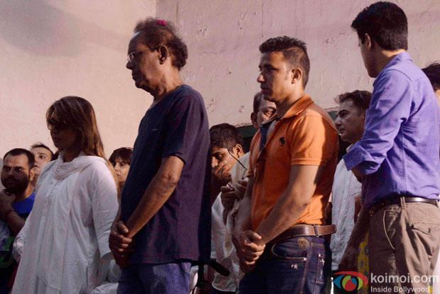 Virendra Saxena Attend Kyunki Saas Bhi Kabhi Bahu Thi's Baa aka Sudha Shivpuri's Funeral