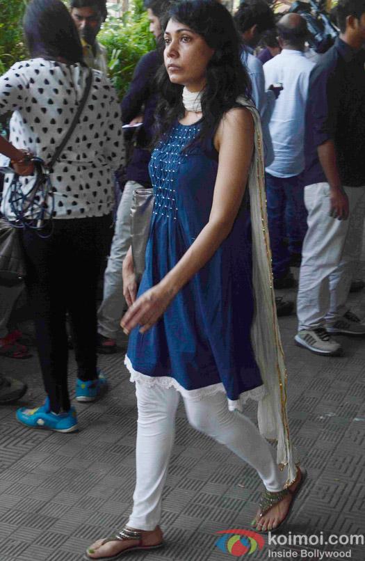 Tuhinaa Vohra Attend Kyunki Saas Bhi Kabhi Bahu Thi's Baa aka Sudha Shivpuri's Funeral