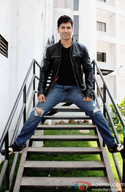 Varun Dhawan during the promotion of 'ABCD - Any Body Can Dance - 2' on Nach Baliye 7