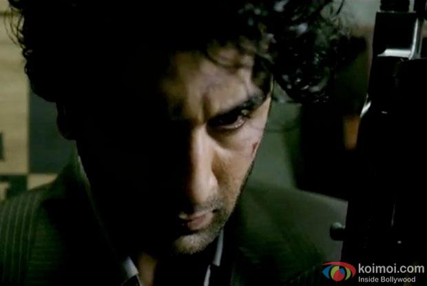 Ranbir Kapoor in a still from movie 'Bombay Velvet'