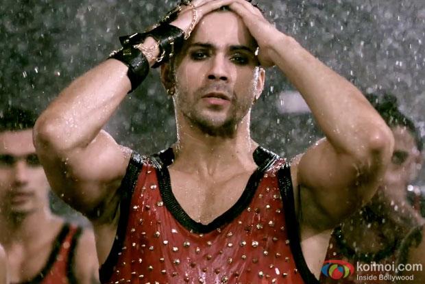 Varun Dhawan in a still from movie 'ABCD 2'