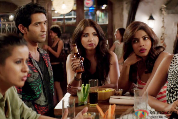 Anushka Sharma and Priyanka Chopra in a still from movie 'Dil Dhadakne Do'