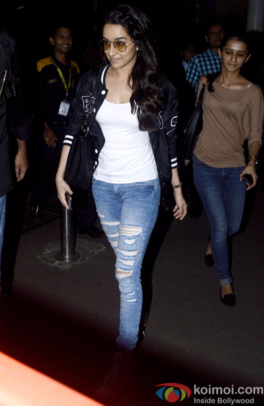 ABCD 2 Promotions: Shraddha Kapoor's Quick Trip To Indore