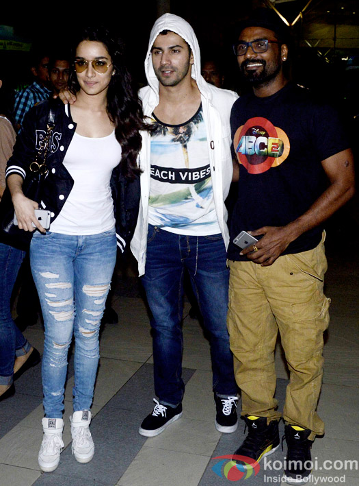 ABCD 2 Promotions: Shraddha Kapoor, Varun Dhawan and Remo D'Souza's Quick Trip To Indore