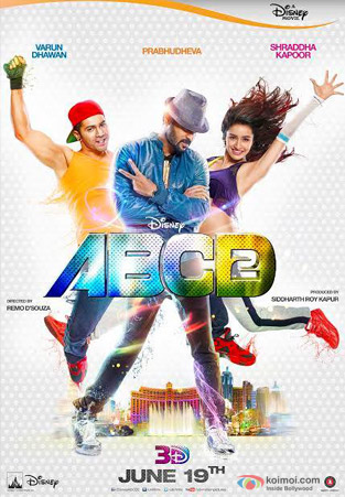 ABCD - Any Body Can Dance - 2 Movie Poster