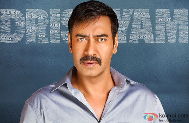 Ajay Devgn in a still from movie 'Drishyam'