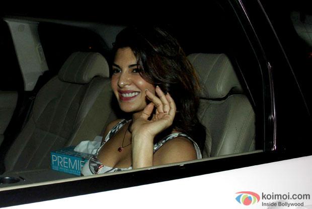 Jacqueline Fernandez during the Karan Johar's bash for 'Brothers'