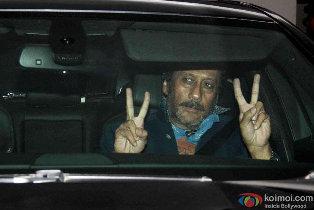 Jackie Shroff during the Karan Johar's bash for 'Brothers'