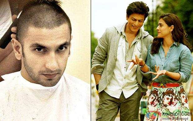 Ranveer Singh, Shah Rukh Khan and Kajol