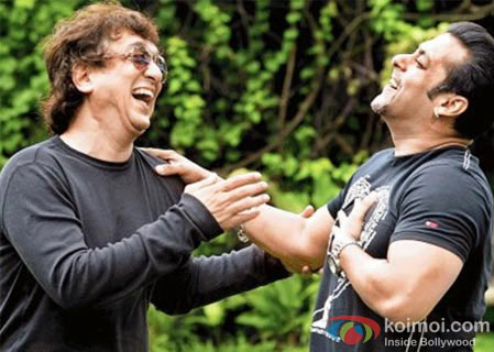 Sajid Nadiadwala and Salman Khan