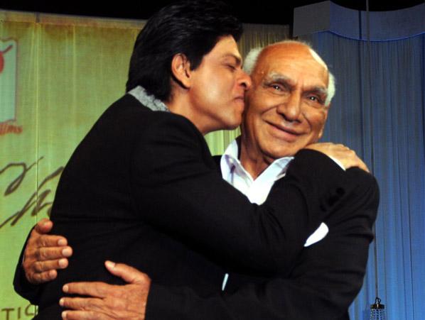 Shah Rukh Khan and Yash Chopra