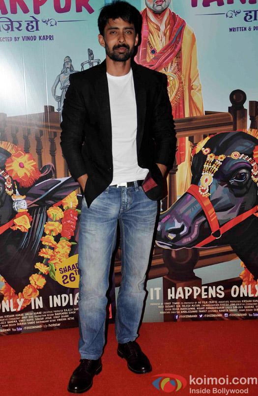 Rahul Bagga during the screening of 'Miss Tanakpur Hazir Ho'