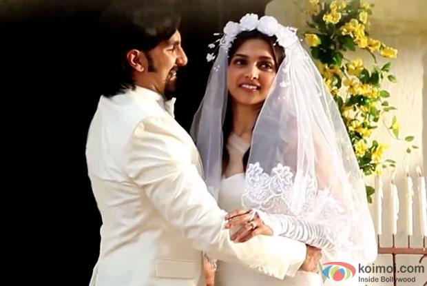 Ranveer Singh and Deepika Padukone in a still from movie 'Finding Fanny'