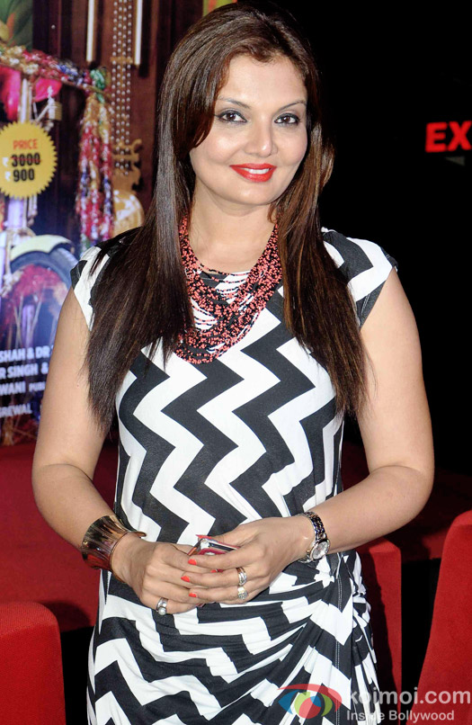 Deepshikha during the trailer launch of 'Second Hand Husband'