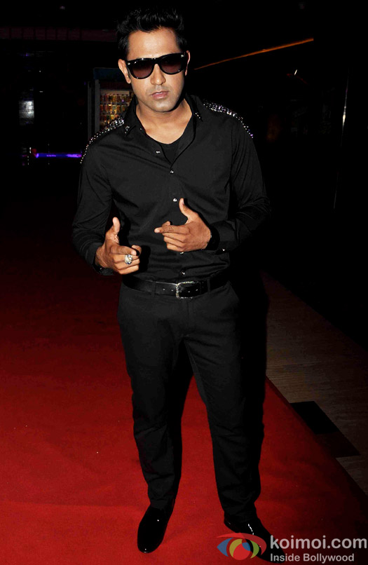 Gippy Grewal during the trailer launch of 'Second Hand Husband'