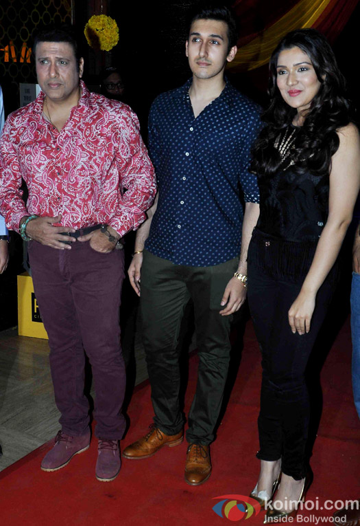 Govinda and Narmmadaa Ahuja during the trailer launch of  'Second Hand Husband'