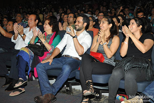 Emraan attended his son, Ayaan's dance performance along with the Shaimak Davar dance troupe
