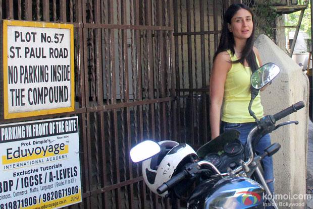 Kareena Kapoor Khan Snapped At Bandra