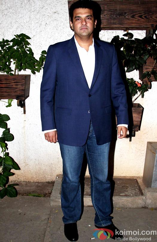 Siddharth Roy Kapur during the special screening of Hamari Adhuri Kahani at Sunny Super Sound