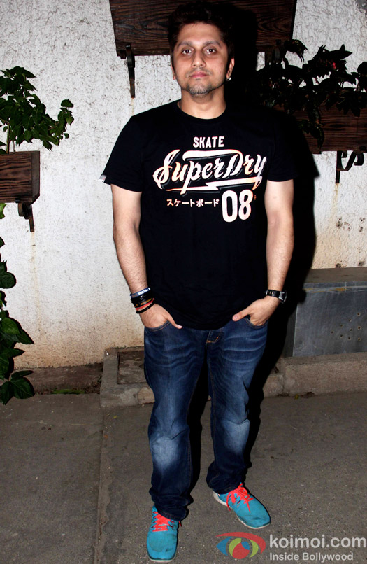 Mohit Suri during the special screening of Hamari Adhuri Kahani at Sunny Super Sound