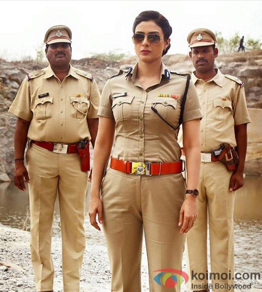 First Look : Tabu As IG Meera Deshmukh In Drishyam