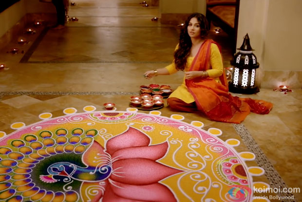 Vidya Balan in a still from movie 'Hamari Adhuri Kahani'