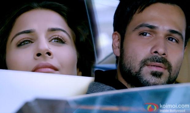 Vidya Balan and Emraan Hashmi in a still from movie 'Hamari Adhuri Kahani'