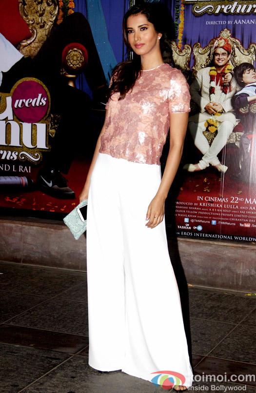 Manasvi Mamgai during the success bash of movie Tanu Weds Manu Returns