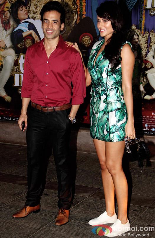 Tusshar Kapoor during the success bash of movie Tanu Weds Manu Returns