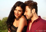 Sara Loren and Adhyayan Suman in Ishq Click Movie Stills Pic 2