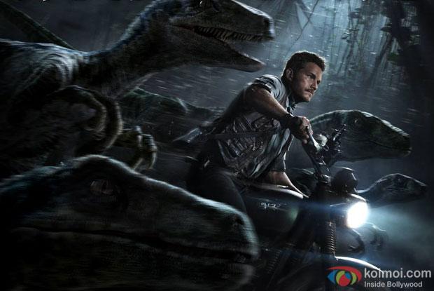 A still from movie 'Jurassic World'