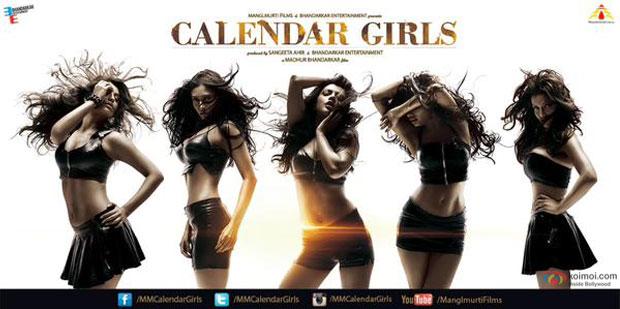 Akanksha Puri, Avani Modi, Kyra Dutt, Ruhi Singh and Satarupa Pyne starrer 'Calendar Girls' movie poster
