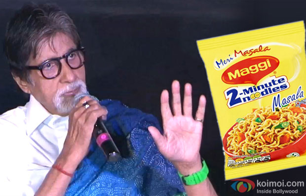 Maggi Ban In India : Amitabh Bachchan Talk About The Controversy