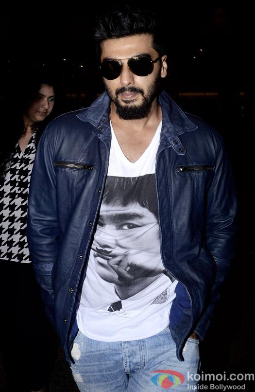 Snapped At Airport :  Arjun Kapoor